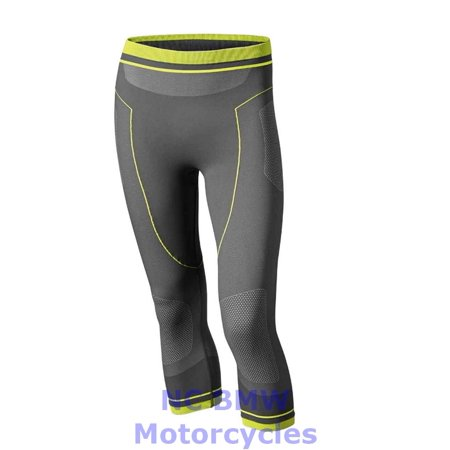BMW Genuine Motorcycle Men Summer Functional Undercloth 3/4 Pants Gray Size XL Bmw Motorcycle Parts Accessories