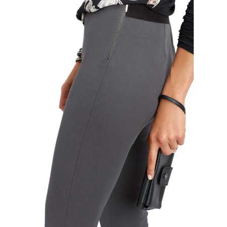 Side Zip Skinny Ankle Pant
