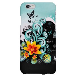 iPhone 6/6s Case, Premium Polished Snap On Protective Cover for iPhone 6/6s - Yellow Lily
