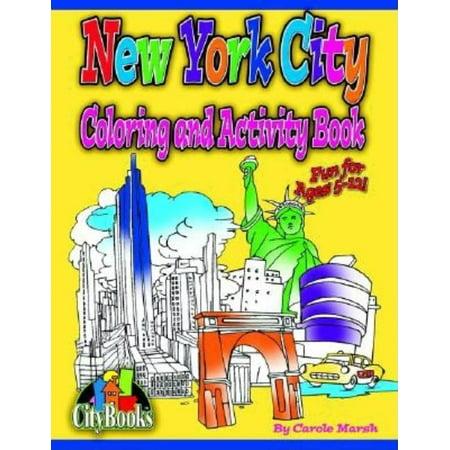 New York City Halloween Activities (New York City Coloring & Activity)