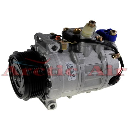 (Remanufactured Auto AC Compressor w/ Clutch Fits MERCEDES BENZ 08-12 GL550 5.5L 07-11 ML350 w/ Rear AC 3.5L 2006 ML350 3.5L 07 ML500 5.0L 08-11 ML550 5.5L 07-11 R350 w/Rear AC 3.5L)