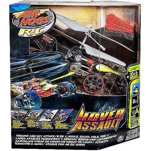 Air Hogs Hover Assault Radio-Controlled Helicopter, Black