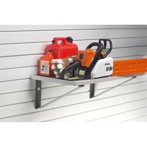 StoreWALL 15'' Ready to Use Shelf Kit (2 pc.) - 48'' Length