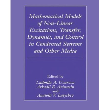 Mathematical Models of Non-Linear Excitations, Transfer, Dynamics and Control in Condensed Systems and Other