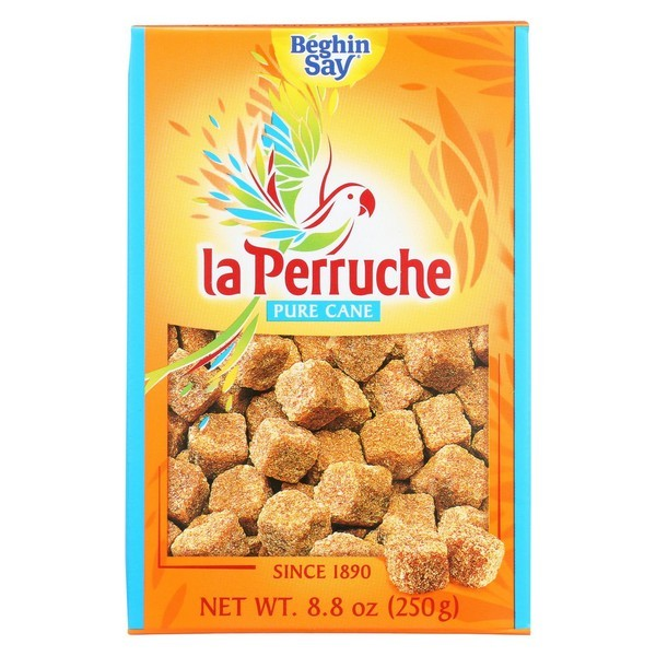 La Perruche Sugar Cubes - Brown - Pack of 16 - 8.8 Oz.