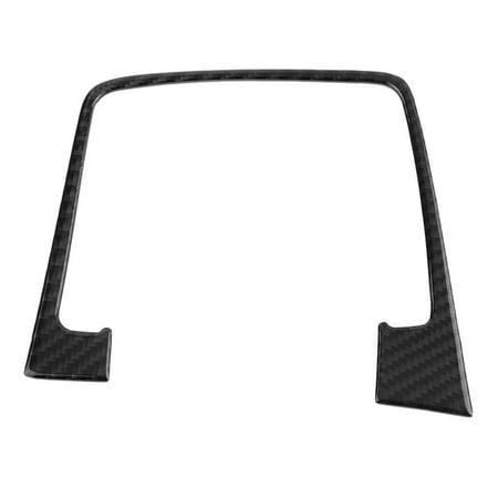FAGINEY Carbon Fiber Interior Console Gear Shift Panel Trim Cover for Golf7 14-19 Carbon Fiber Interior Trim Applique