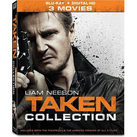 Taken  3 Movie Collection  Blu Ray