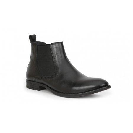 f911399f0e Giorgio Brutini - Giorgio Brutini FOSTER Mens Black Leather Chelsea Closed  Toe Boots - Walmart.com
