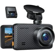 Best Car Dash Cams - APEMAN 2K &1080P Dual Dash Cam, 2688x1520P max Review