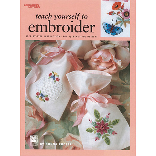 Leisure Arts, Teach Yourself To Embroider