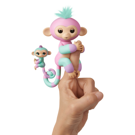 Fingerlings Baby Monkey Mini BFFs
