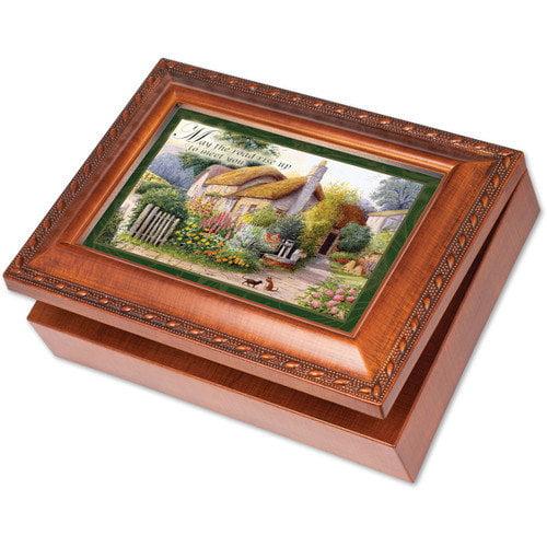 Cottage Garden Traditional Irish Road Music Box