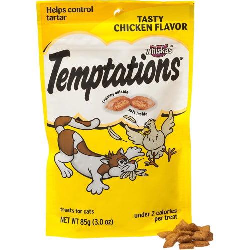 Whiskas Cat Treats, Tasty Chicken (Pack of 10)