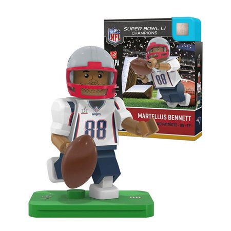 Oyo Sports P Nflnep88sbc G4le New England Patriots Martellus Bennett Super Bowl Champion Limited Edition Oyo Minifigure