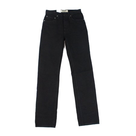 Solid Mens 29x34 Zip Fly Classic Straight Leg Jeans 29