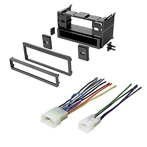 toyota 1987 - 1997 camry car stereo radio cd player receiver install mounting kit wire harness