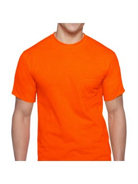 b9e60d6a Product Image Men's Workwear Short Sleeve High Visibility Crew, ...