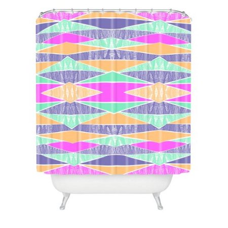 Deny Designs Amy Sia Pastel Tribal Shower Curtain 69 X 72