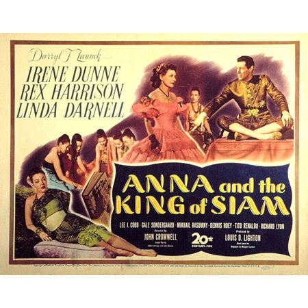 Anna And The King Of Siam Canvas Art -  (28 x 22)