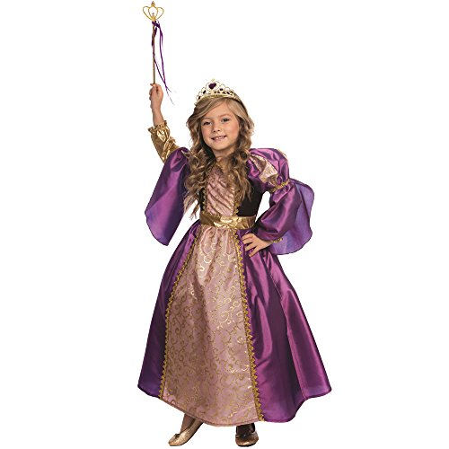 Dress Up America Purple Royalty Princess Costume - Size Toddler 2