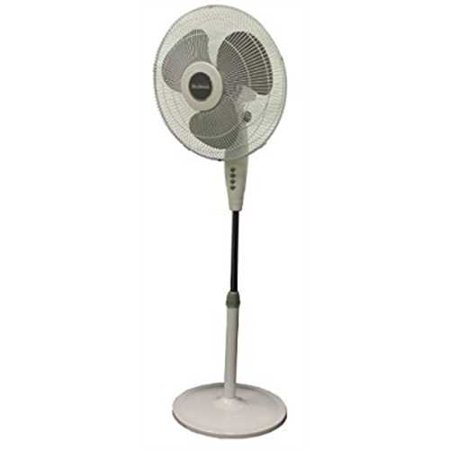 Holmes hsf1610a 16 3 speed oscillating adjustable stand for 16 floor fan