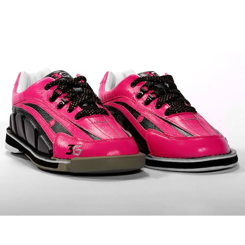 3G Tour Ultra Pink/Black Women's Right Hand Bowling Shoes, Size 5
