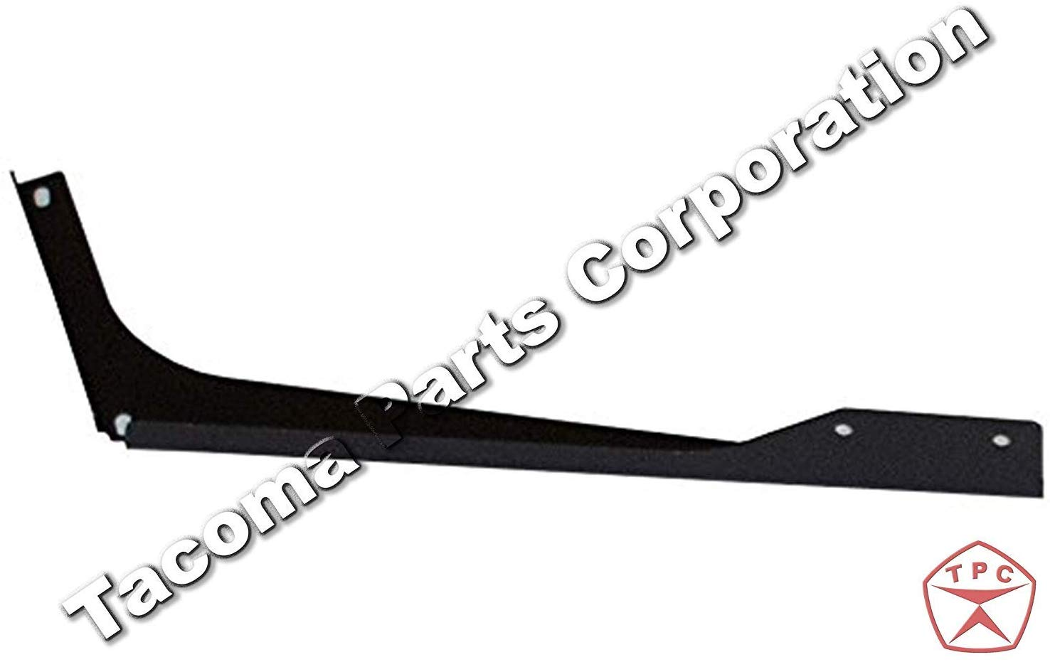 FIt: Volvo VNL 2004-2017 Driver Side 6 Piece Set of Top and Bottom Cabin Fairing Mounting Brackets Black