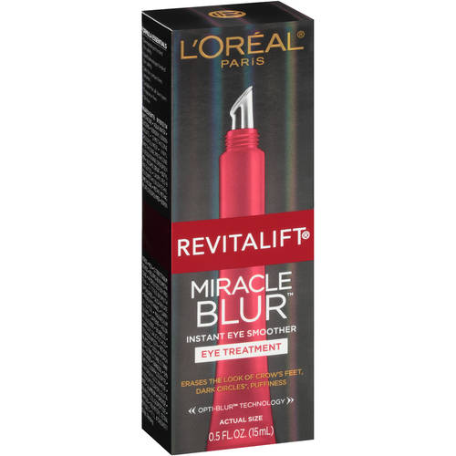 L'Oreal Paris Revitalift Miracle Blur Instant Eye Smoother, 0.5 Fl Oz