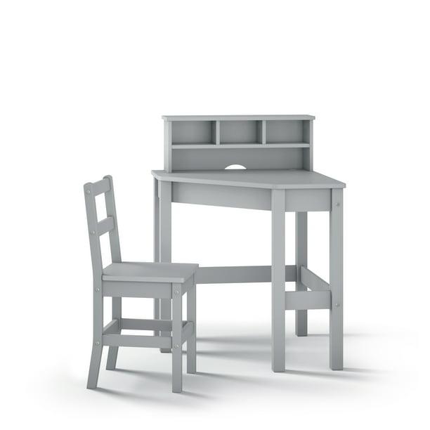 P'kolino Kids Corner Desk and Chair - Grey - Walmart.com - Walmart.com