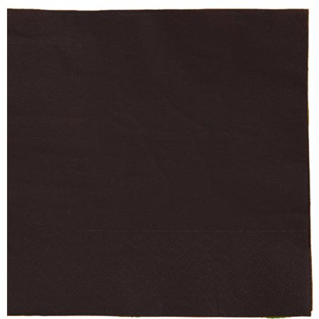 Exquisite Disposable Luncheon & Dinner Napkins - Bulk 50 Count - Black - High Quality Paper Napkins for Cocktail Parties, Birthdays, Weddings, Bridal & Baby Showers - Wedding Shower Napkins