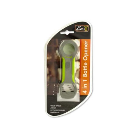 Kole Imports HH299-40 4 in 1 Bottle Opener - Pack of 40 - image 1 of 1