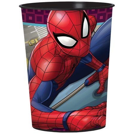 Spiderman 16oz Party Favor Cup - Spiderman Favors