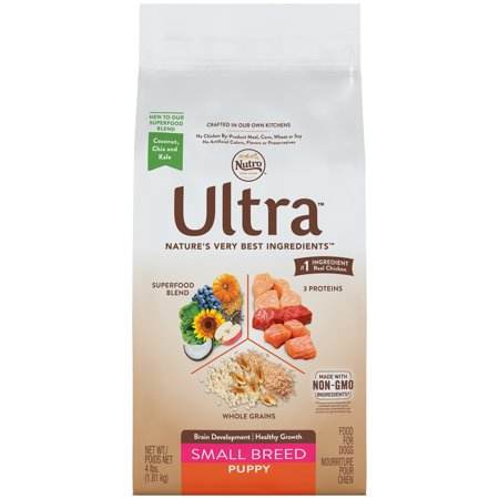 NUTRO ULTRA Small Breed Puppy Dry Dog Food 4 Pounds