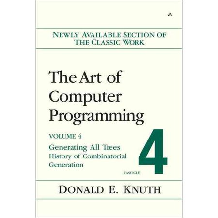 The Art of Computer Programming, Fascicle 4: Generating All Trees - History of Combinatorial Generation