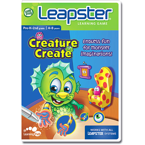 LeapFrog Leapster Learning Game: Creature Create