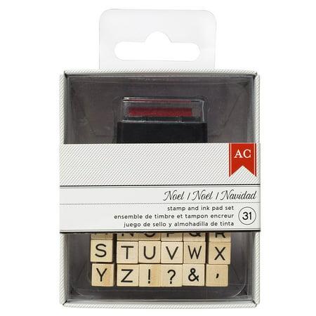 AC DTH Stamp - Alphabet