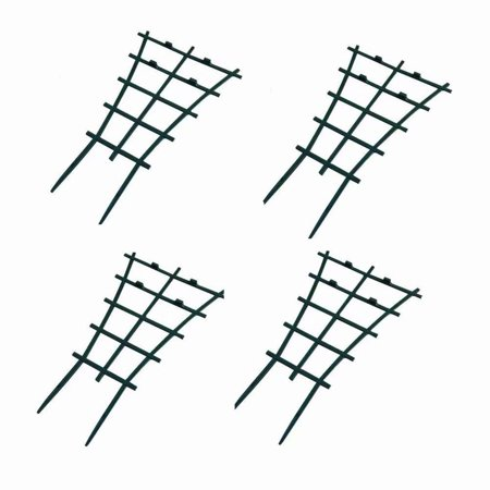 Mr Garden Garden Trellis For Mini Climbing Plant Pot Support Morning Glory Trellis 5.9