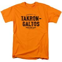 JLA DC Comics Justice League Takron-Galtos Planet Prison Adult T-Shirt Tee