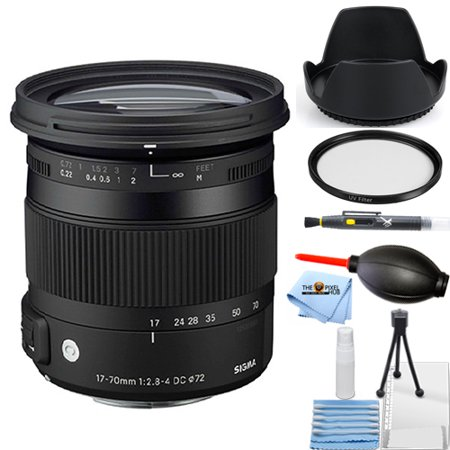 Sigma 17-70mm f/2.8-4 DC Macro OS HSM Lens for Canon STARTER