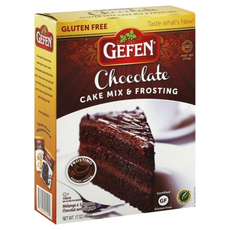 Gefen Gluten Free Chocolate Cake Mix With Frost - Case Of ...