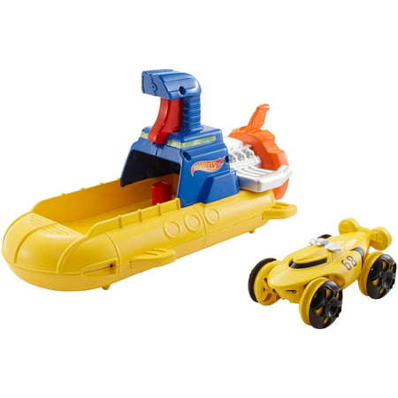 - Hot Wheels Splash Rides Blastin Sub Vehicle