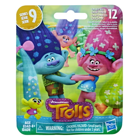 DreamWorks Trolls Surprise Mini Figure Series 9 Party Hair Trolls