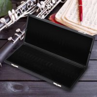 Wooden + PU Leather Cover Reed Case Holder Storage Box for 10/12/20pcs Oboe Reeds Wooden Oboe Reeds Case Oboe Accessory
