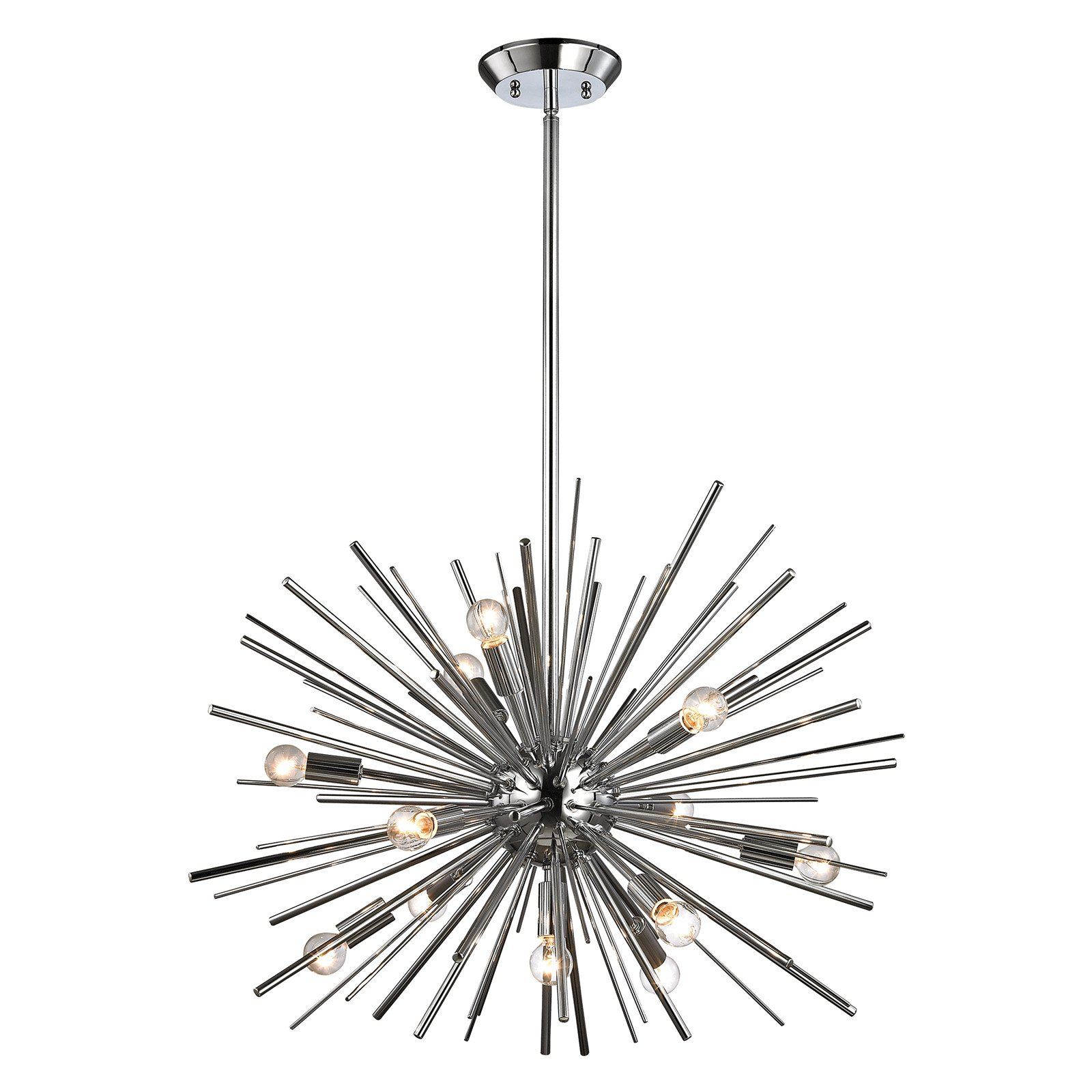 Dimond Lighting Starburst 12 Light Pendant Light