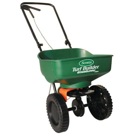 Scotts Broadcast Spreader. Use It For Grass Seed, Manure, Salt, Compost, Fertilizer & Turf Builder For Growing Plants, Flowers & Shrubs In Garden Lawn, Yard, Backyard. Heavy