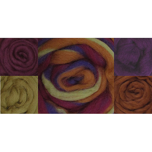 "Wool Roving 12"", .25 Ounce, 8-Pack"