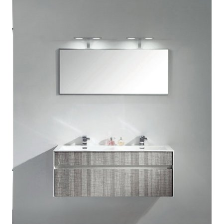 Eviva Ashy 48 in. Single Bathroom Vanity Set