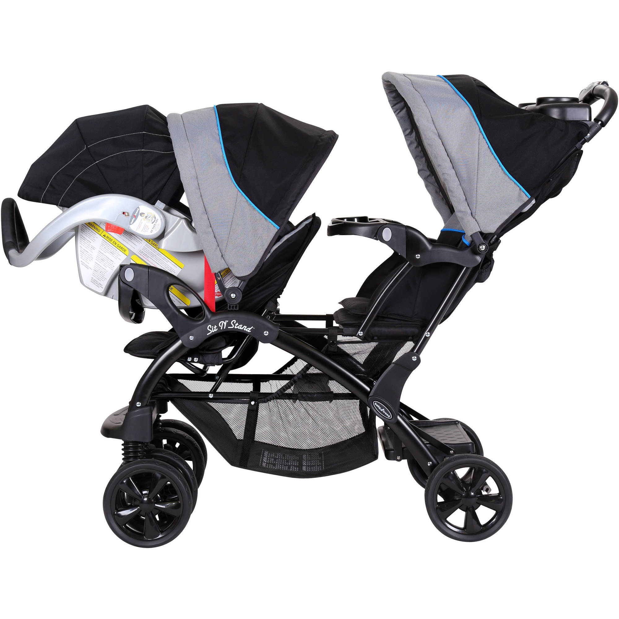 Baby Trend Sit And Stand Plus Double Stroller Strollers 2017