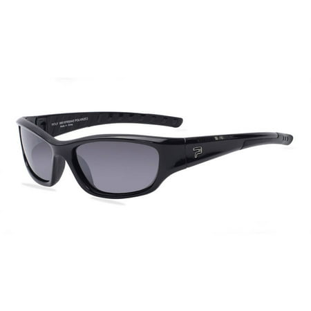 PRX Mens Prescription Sunglasses, Wolf Shiny Blk (Best Tint For Prescription Sunglasses)