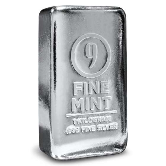 Not Specified 1 Kilo Silver Bar 9fine Mint Walmart Com